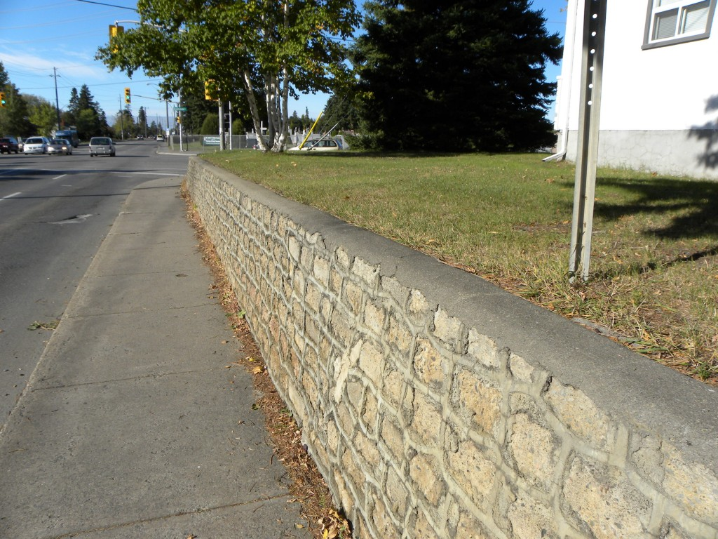 Engineered municipal Retaining Walls