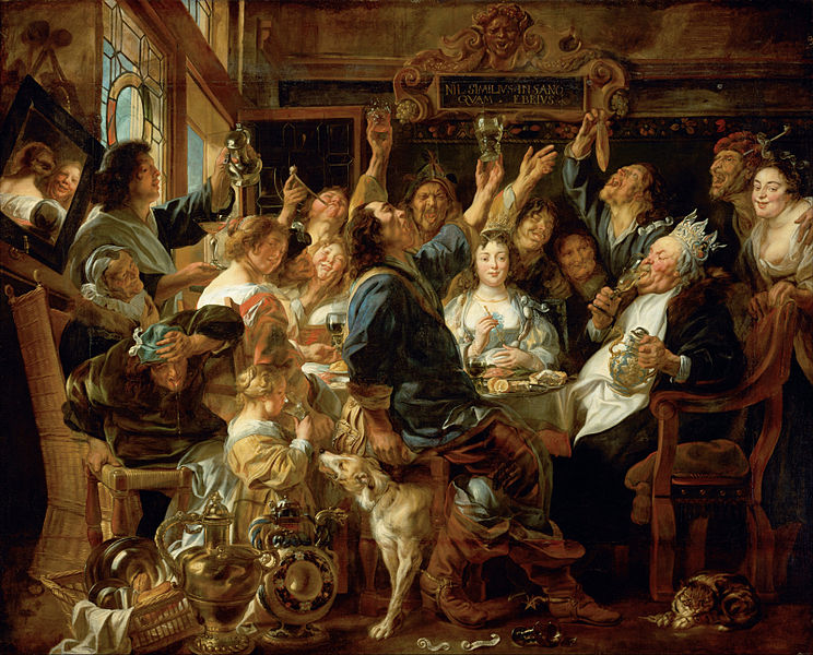 744px-Jacob_Jordaens_-_The_Feast_of_the_Bean_King_-_Google_Art_Project