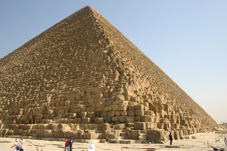 The Great Cheops Pyramid of Egypt