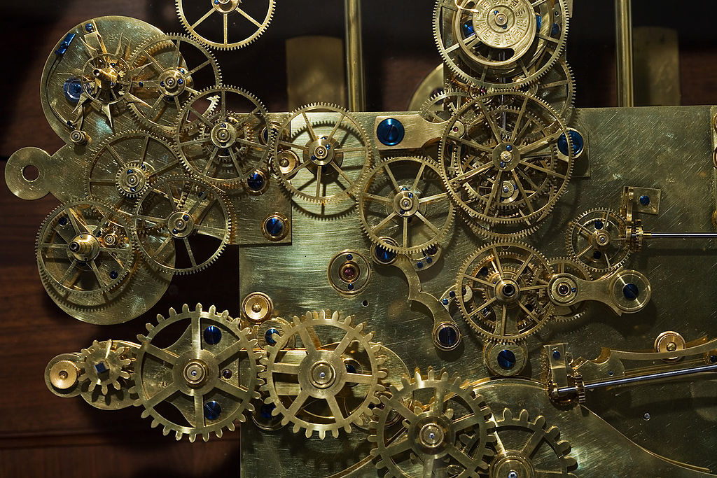 Vintage_Franz_Zajizek_Astronomical_Clock_machinery