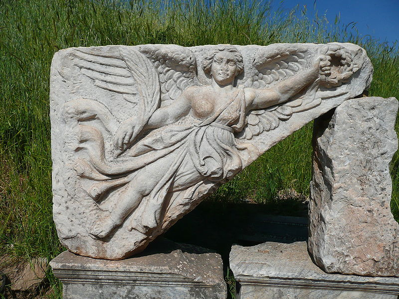 Victory- The Greek Goddess Nike at Ephesus, Turkey
