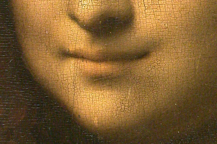 Mona Lisa in Detail