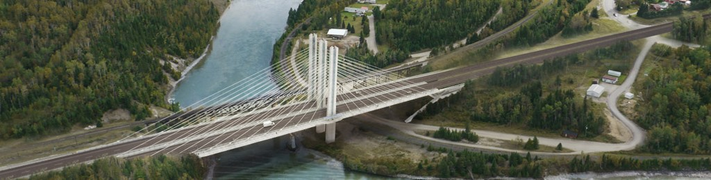 The Nipigon River Bridge