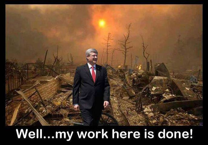 Harper leaves a trail of destruction behind him